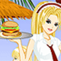 Diner Waitress Dress Up